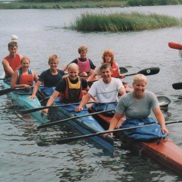 Störtebeker Paddler zurück aus Kalmar