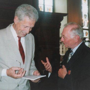 Bundesverdienstkreuz für Dieter Kreft