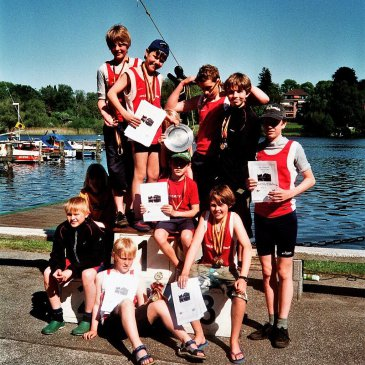 Erfolgreichste Mannschaft in Lübeck auf der Wakenitz