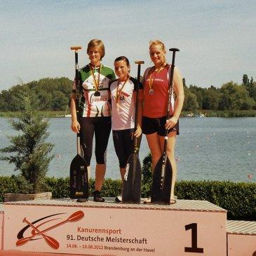 2x Bronze bei den Deutschen Meisterschaften im Kanu-Rennsport in Brandenburg