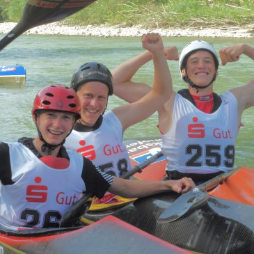 Sven Paufler zweifacher Deutscher Jugendmeister im Wildwasser
