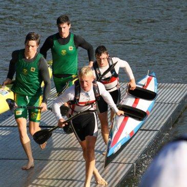 Weltmeisterschaften im Kanu-Marathon auf dem Lake Bagsvaerd in Dänemark