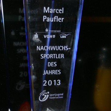 Nachwuchssportler des Jahres 2013: Marcel Paufler