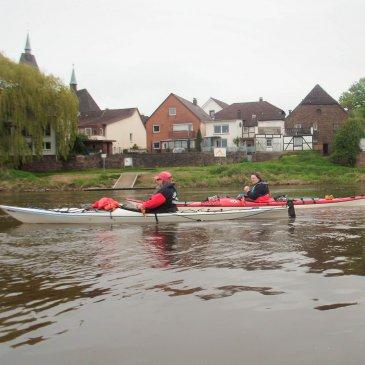 Von Beverungen bis Holzminden auf der Weser