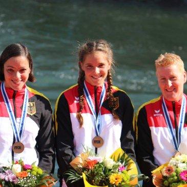 Wildwasser-Sprint-WM: Bronze für Alke Overbeck in der Damen-Mannschaft