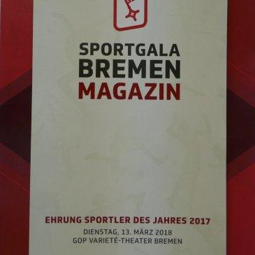"""SPORTGALA BREMEN MAGAZIN"""