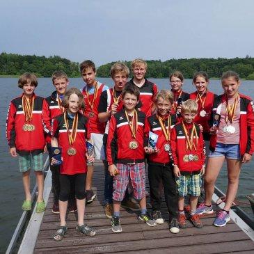 29 Medaillen bei Plöner Kanuregatta