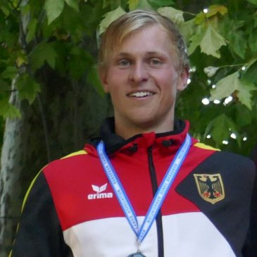 Marcel ist Vize-Europameister der U23 im Kanu-Marathon!!!