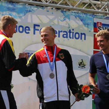 Marcel ist U23-Doppel-Europameister im Kanu-Wildwasser