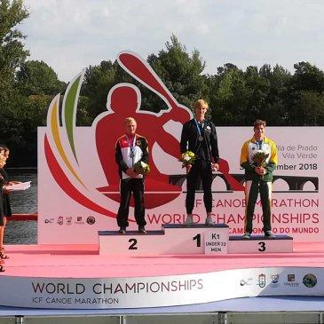 Marcel ist Vize-Weltmeister im Marathon!
